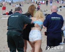 数千青年聚集沙滩打架吸毒 草丛里发生性关系
