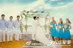 林志颖结婚2年晒拥吻照:爱让我们的心坚定
